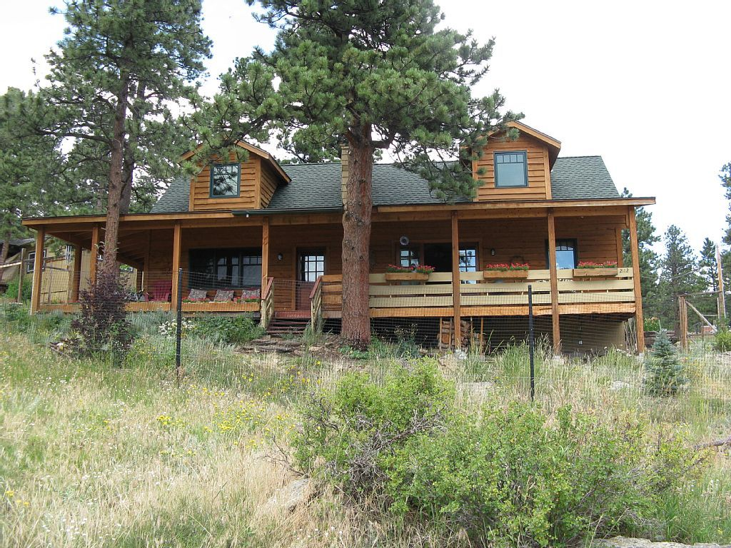 from cabins rentals in vacation com pin rental cabin vrbo estes park