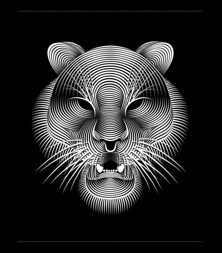 """*-*-*-* the selection of """" Le Journal de Veg """" *-*-*-* EnOrme coup de ♥ La Pureté des Lignes ! Digital Art by Patrick Seymour Montreal."""