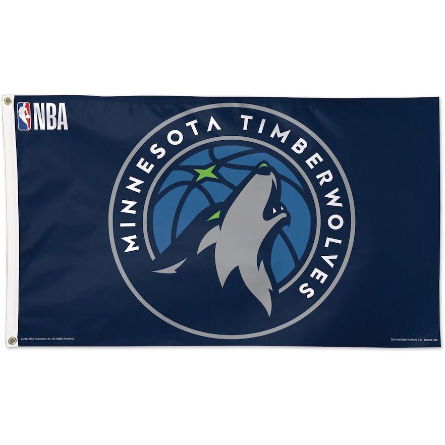 WinCraft Minnesota Timberwolves Double Sided Garden Flag