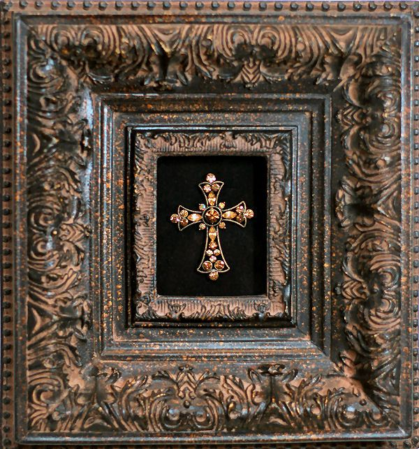 A Framed Cross Is A Lovely Addition To Any Room And A