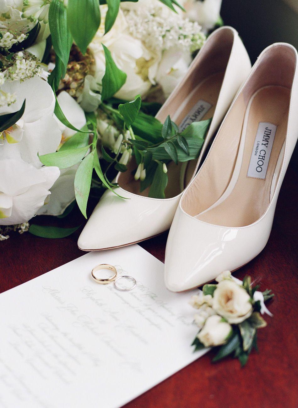 05b82db7e35521 Wedding shoes by Jimmy Choo