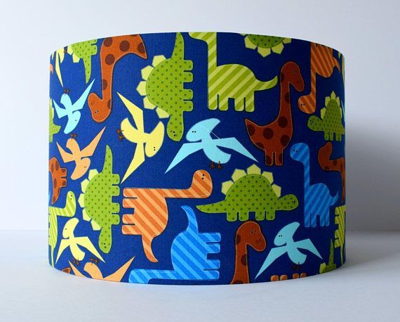 Stunning dinosaur lampshade on a rich blue background and cute stunning dinosaur lampshade on a rich blue background and cute dinosaurs ideal for your little mozeypictures Gallery