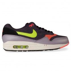 on sale 8aaa7 42369 Nike Sportswear AIR MAX 1 ESSENTIAL, Cave Purple Green   Hype DC
