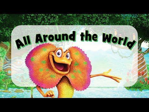 Weird Animals VBS] All Around the World (Lyrics) - YouTube | song
