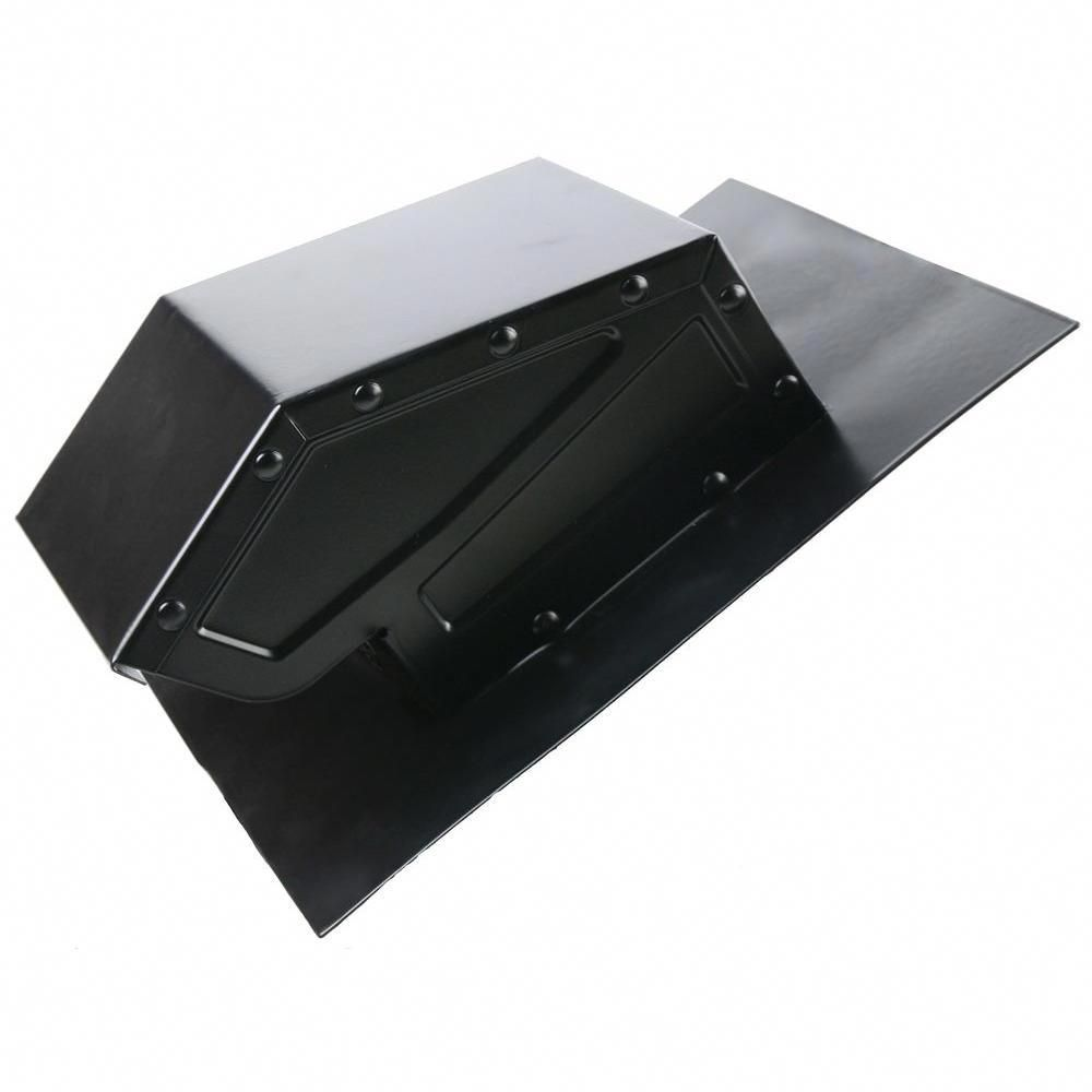how to install roof vent on metal roof