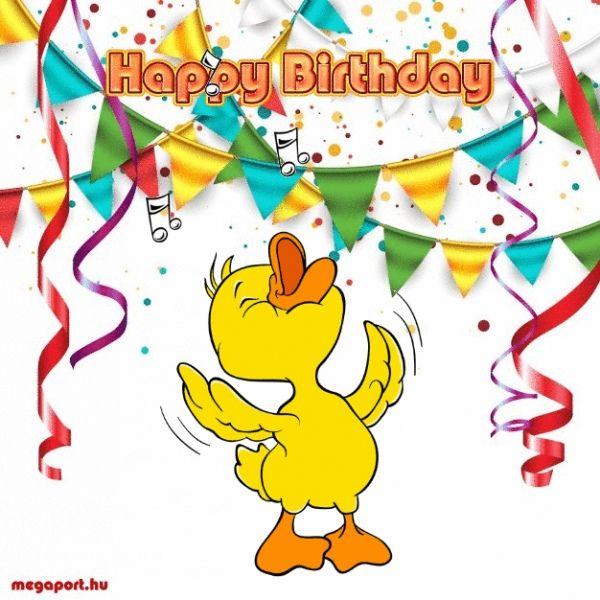 Happy Birthday (animated Gif ECard)