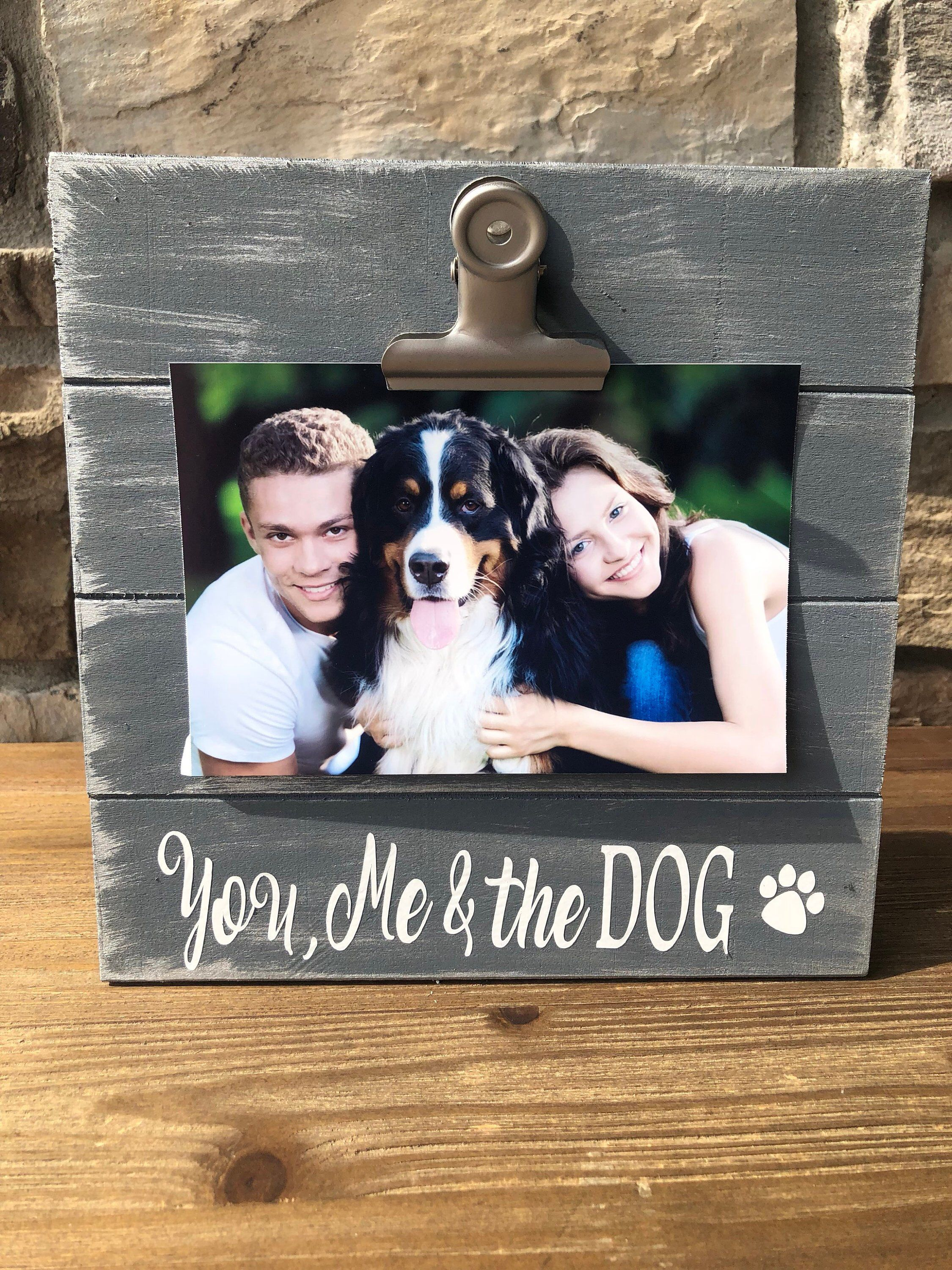 Custom Made Dog Picture Frames