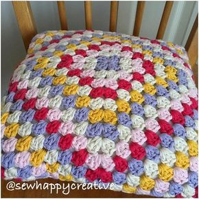 If you fancy a bit of colour we have just added this colorful  cushion in 100% cotton to our Etsy Shop! 😊💜#sewhappycreative #sewhappycreativ #crochet #crochetcushion #crocheteveryday #crochetproject #grannysquare #grannysquaresrock #crochetgirlgang #prettythings #etsy #etsysellersofinstagram #makersgonnamake #instacrochet #craftstherapy #instacrochet #colour #shophandmade #shopsmall #smallbusiness #yarn #yarnaddict #monday #creativelifehappylife #handmadeisbetter