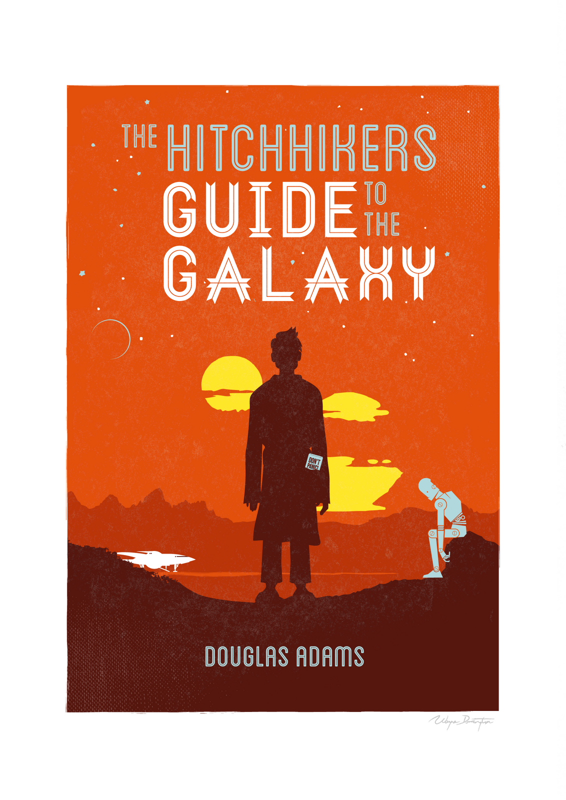 books by their covers hitchhikers guide to the galaxy don t rh pinterest ca Stephen King Books The Graveyard Book