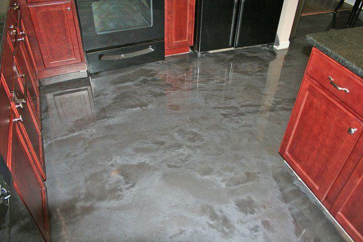 Designer Epoxy Kitchen Floor. Concrete Floors Memphis   Home Decor ...
