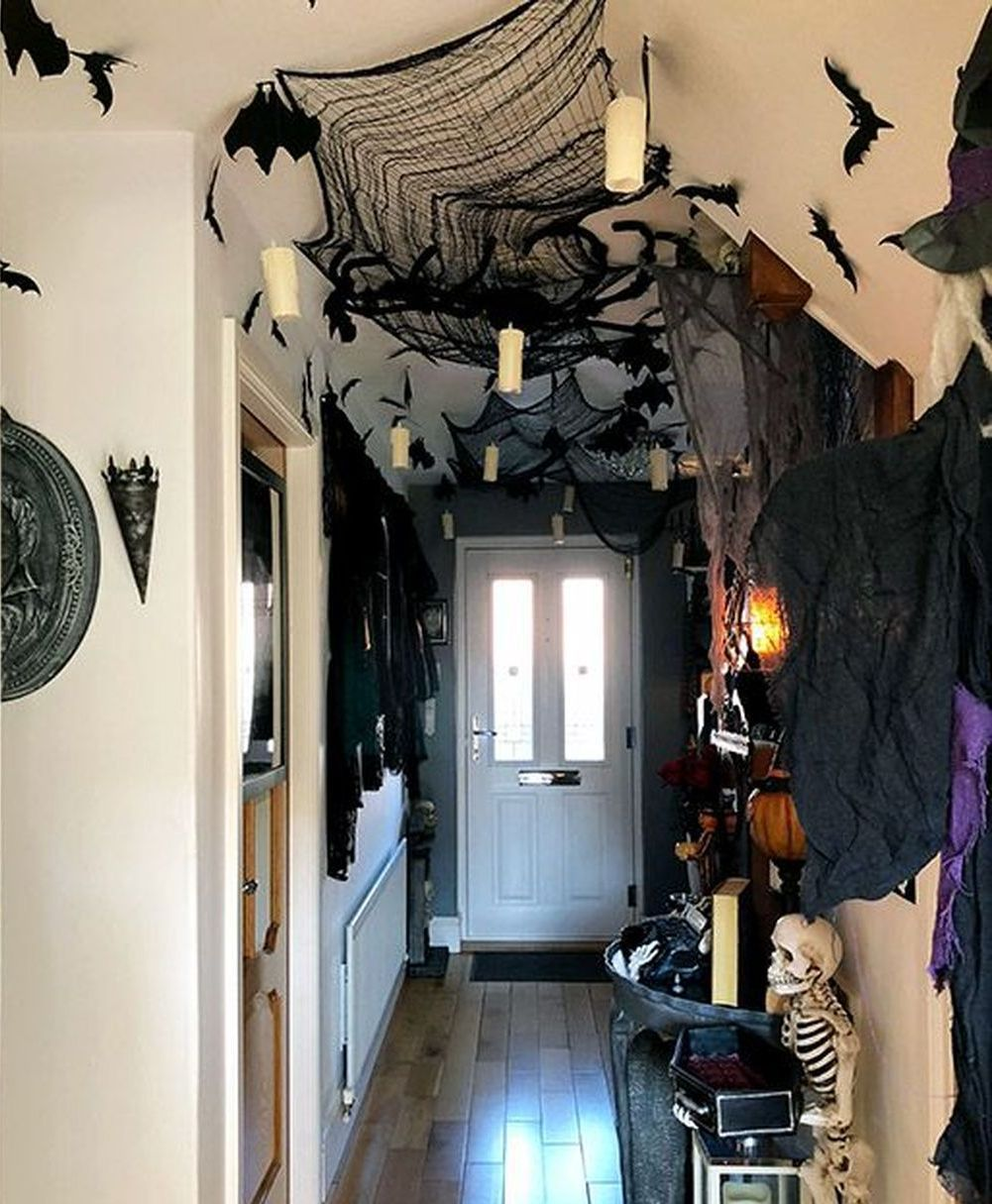 62 Stunning Halloween Decorations Indoor Ideas (With