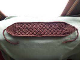 Celtic Earwarmer in Brown by Miba327