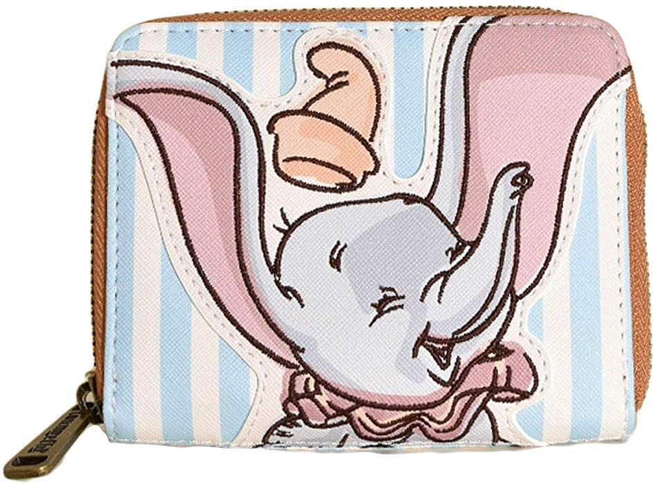 Loungefly x Disney Dumbo Striped Faux-Leather Wallet