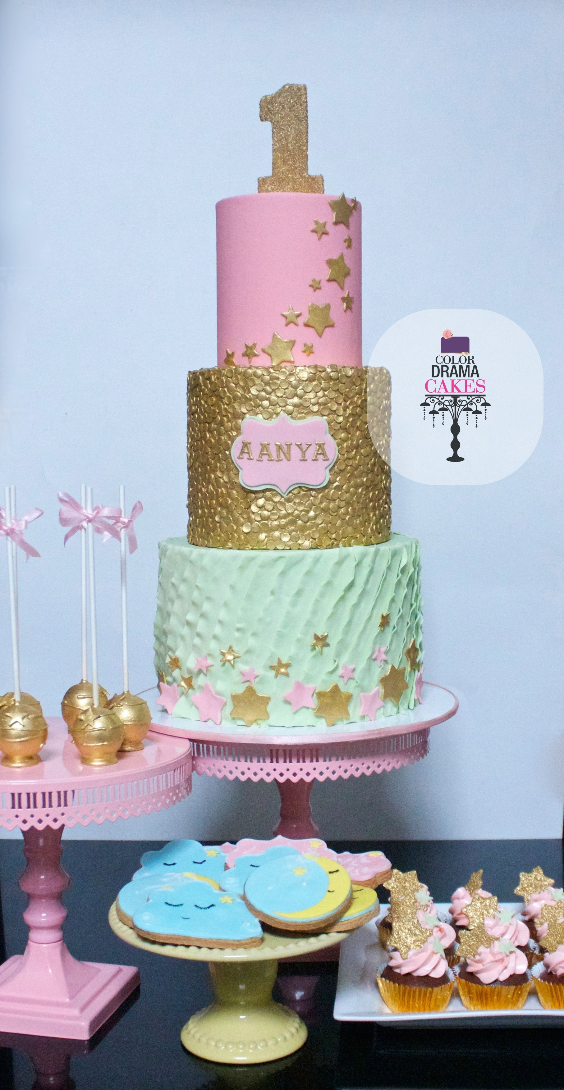 Birthday Cake Twinkle Twinkle Little Star Sugar Craft And
