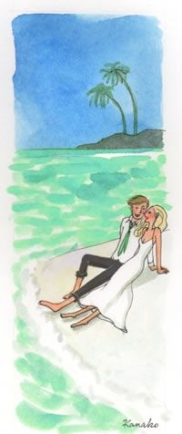 Voyages de noces - Ambiance - My Little Wedding - Kanako