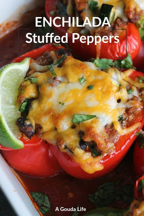 Mexican Stuffed Peppers With Rice And Black Beans A Gouda Life Recipe Stuffed Peppers Peppers Recipes Mexican Stuffed Peppers