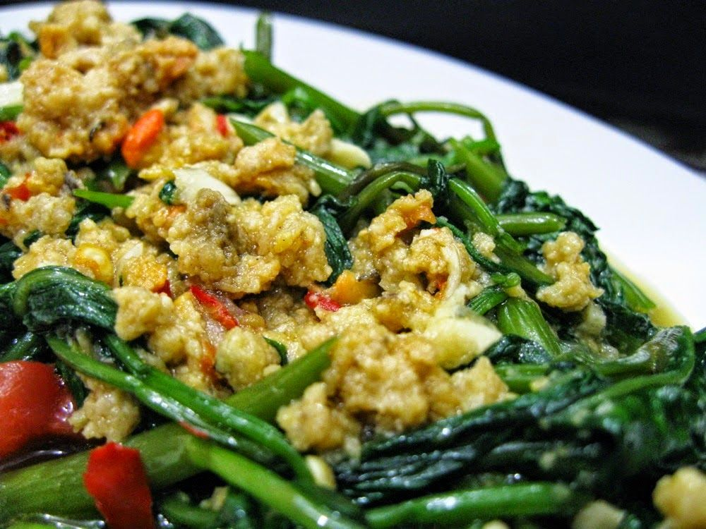 Resep Membuat Tumis Kangkung Oncom Pedas Nikmat Info Resep Masakan Resep Resep Masakan Tumis