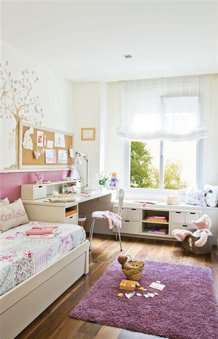 con muebles a medida habitación infantil dormitorios infantiles