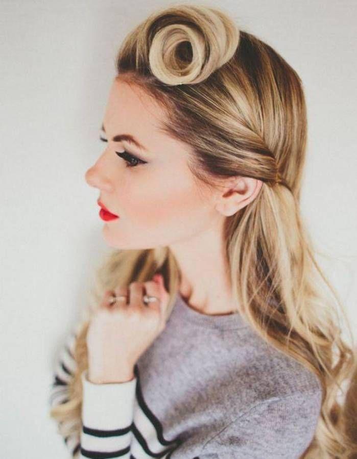 Coiffure vintage cheveux longs – Coiffure vintage : nos plus belles inspirations pour un look glamour – Elle
