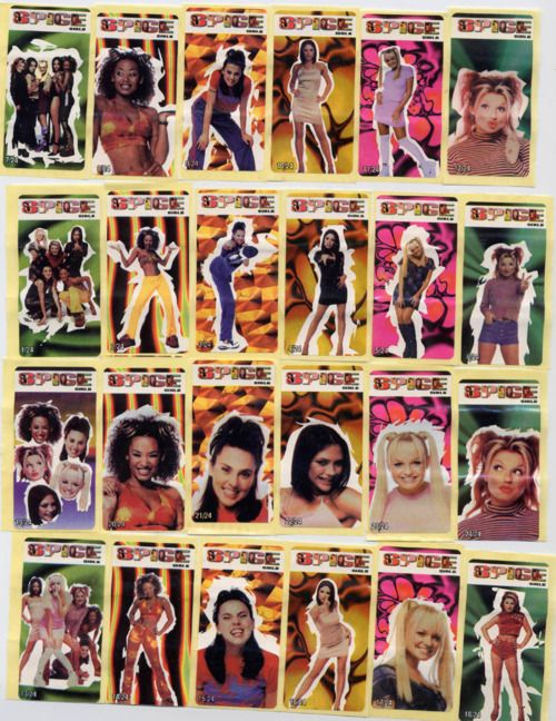 Image result for spice girls stickers