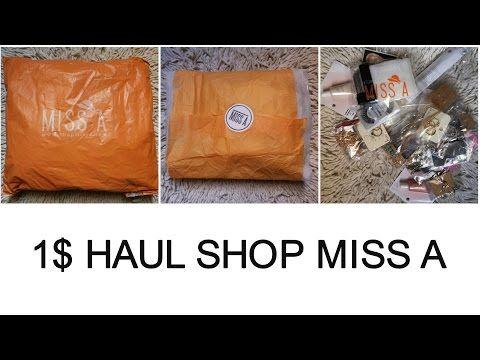 1$ Haul SHOP MISS A | SUNCICA MILIC - YouTube