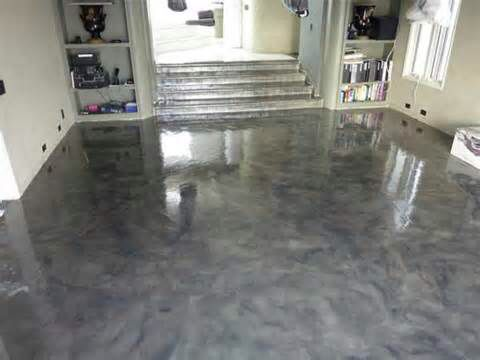 Marble Cement Floor Concrete Stained
