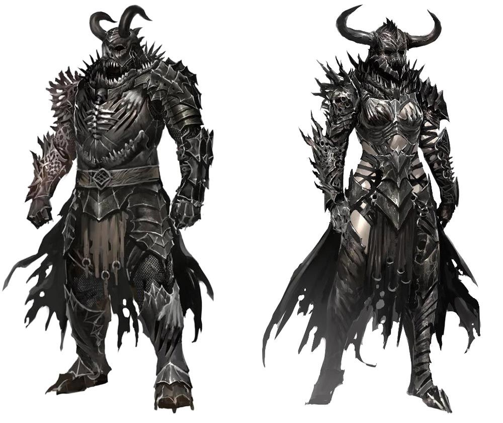 Horned Heavy Armor from Guild Wars 2  It's when the artists gets so