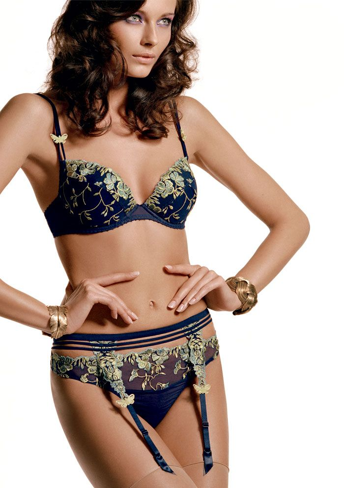 d795c927b9 Aubade French Lingerie | Aubade Fleurs De Pommier Suspender Belt by Aubade  - review, compare .