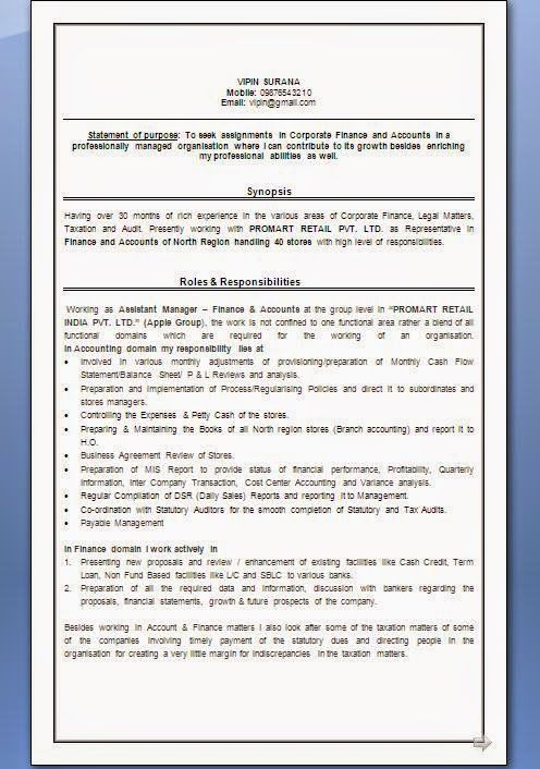 curriculum vitae word 2007 Sample Template Example ofExcellent - new resume format free download