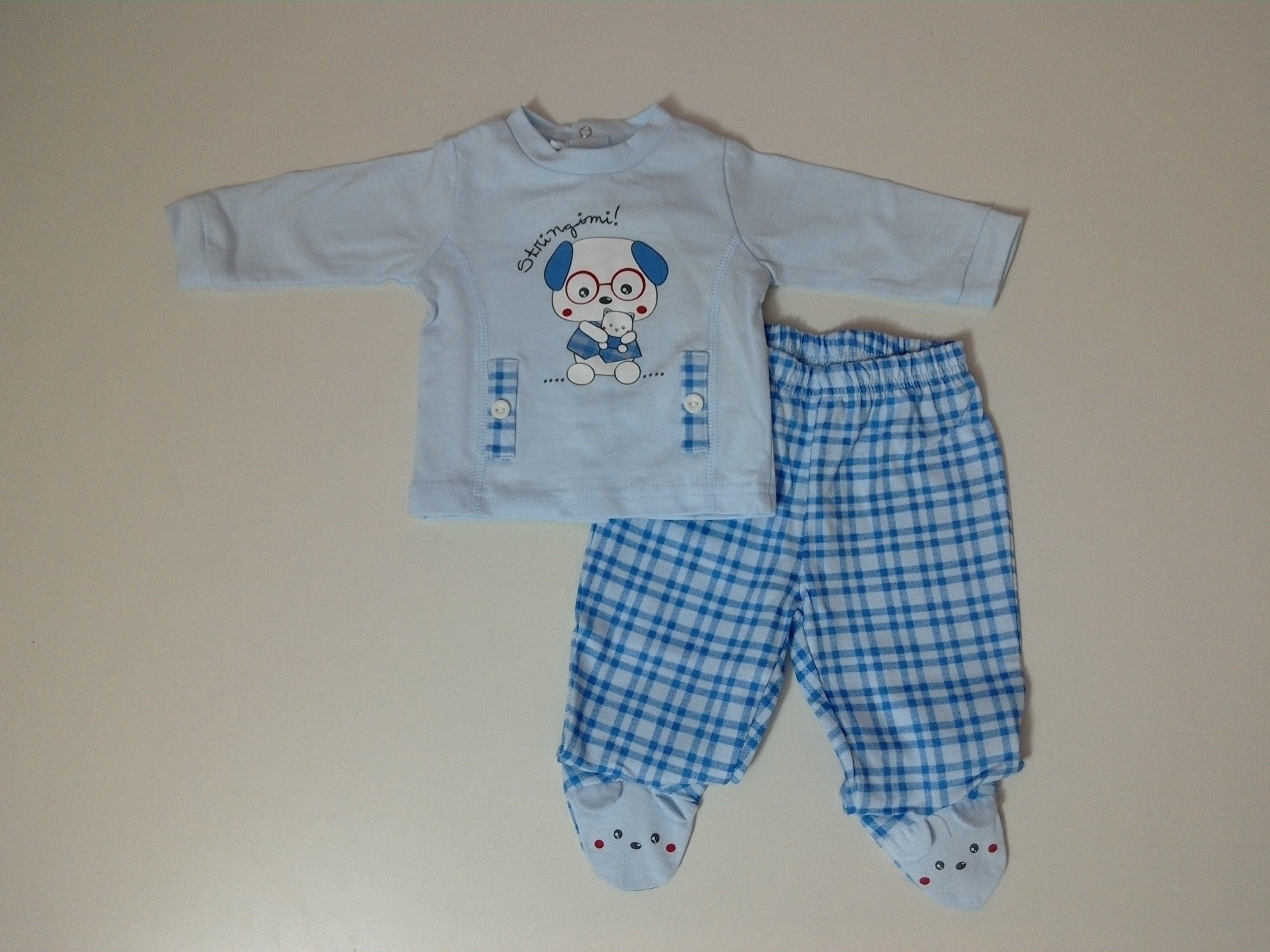 due pezzi neonato 0, 1, 3 mesi