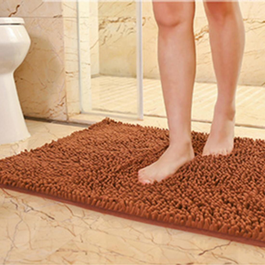 Coral Chenille Bath Mat