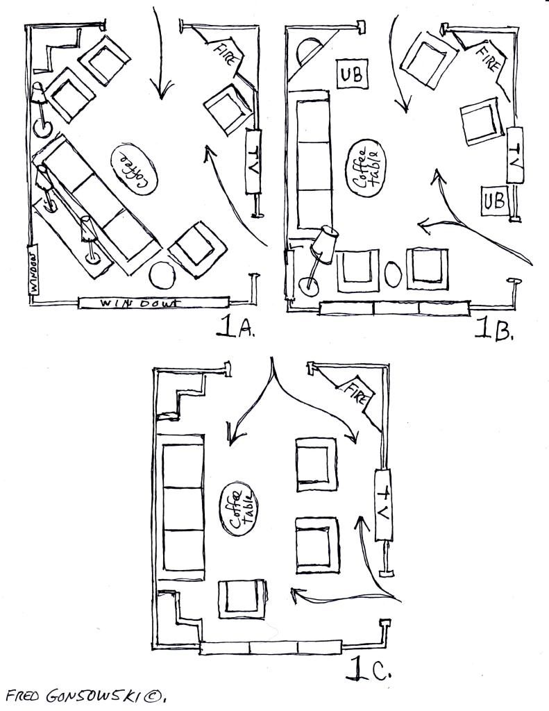 Arranging Furniture Around A Fireplace In The Corner Of A Room Livingroom Layout Furniture Arrangement Furniture Layout
