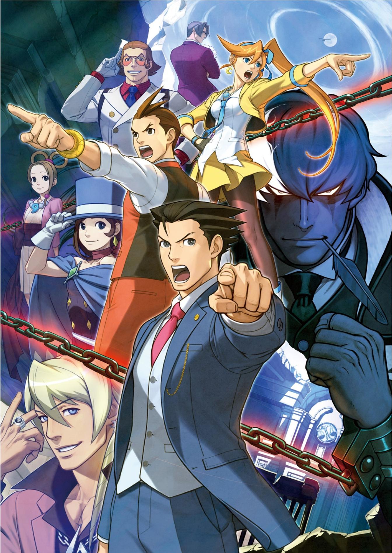 Dual Destinies Phoenix Wright Anime Apollo Justice