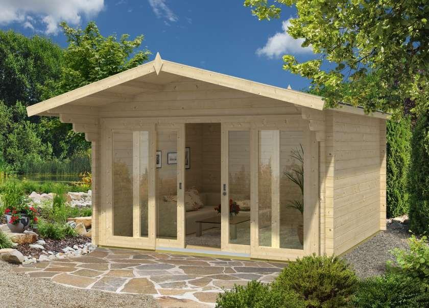 Alpholz Gartenhaus Mirko Modern Casette e Samar