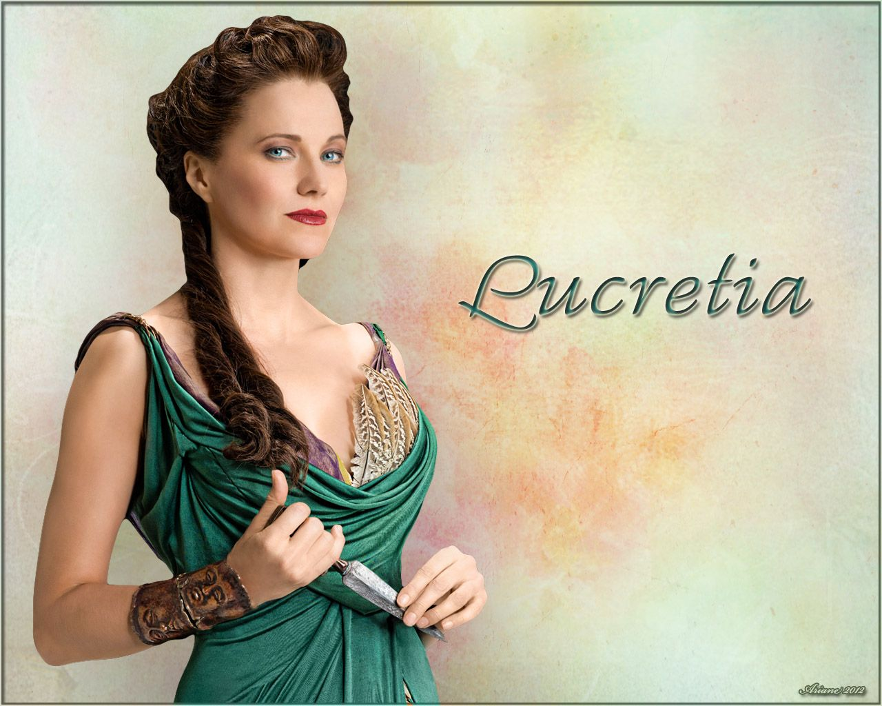 Laurence olivier spartacus quotes - Lucy Lawless As Lucretia In Spartacus Blood And Sand Season 1 Promo