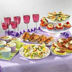 silvester rezepte partyrezepte silvester pinterest silvester buffet party und buffet. Black Bedroom Furniture Sets. Home Design Ideas
