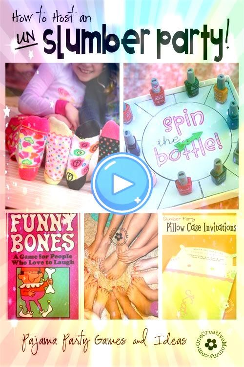 to Host an UnSlumber Party  Top Pins of the Day How to Host an UnSlumber Party  Top Pins of the Day  This fun and interactive sleepover game will sure to be a hit at your...