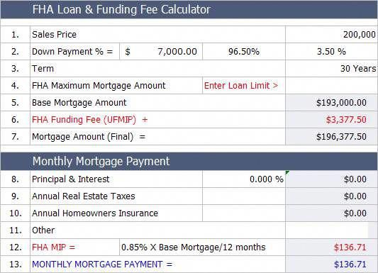 FHA home loan calculator Easily estimate the monthly FHA #mortgage