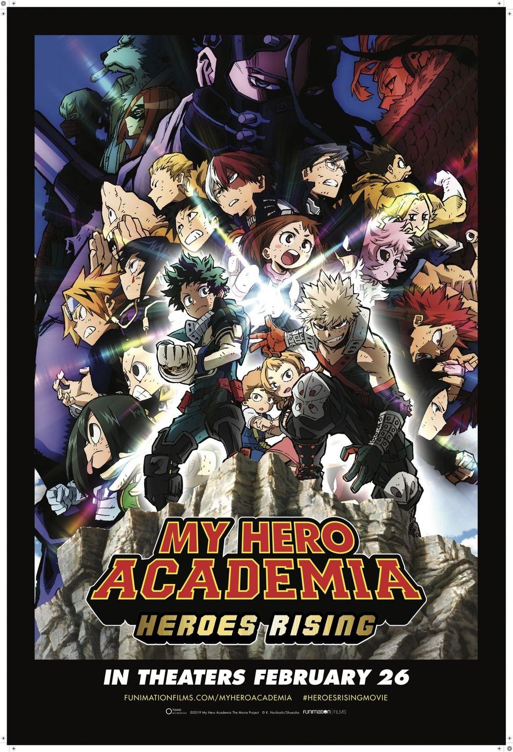 My hero academia heroes rising in 2020 my hero academia