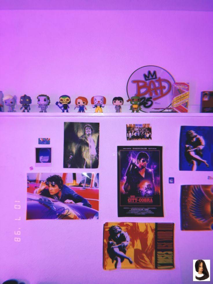 #Retro #Room #room decor grunge Retro Room Room 80s ...