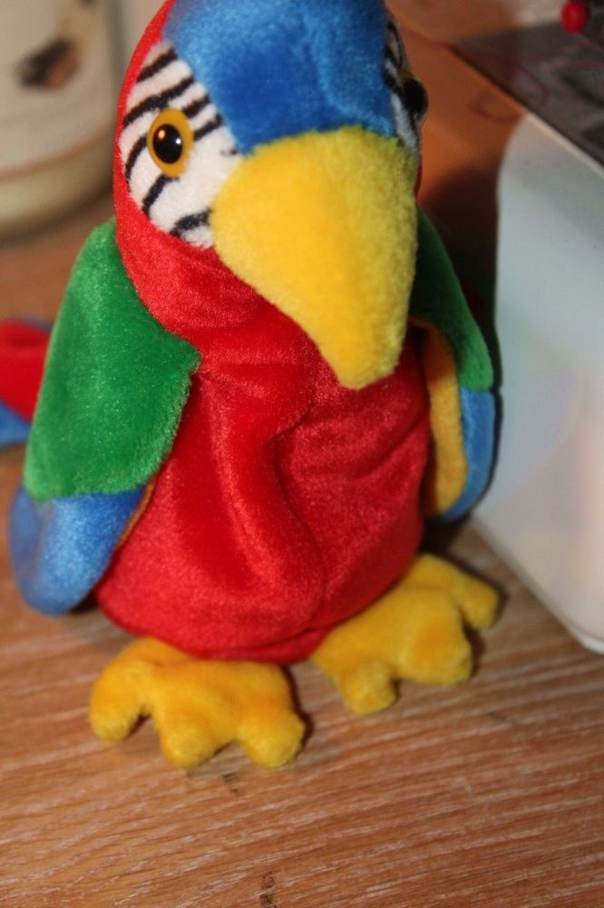 641921a8a69 Jabber the Parrot Ty Beanie Baby Retired Tag Errors  Ty  Beanie