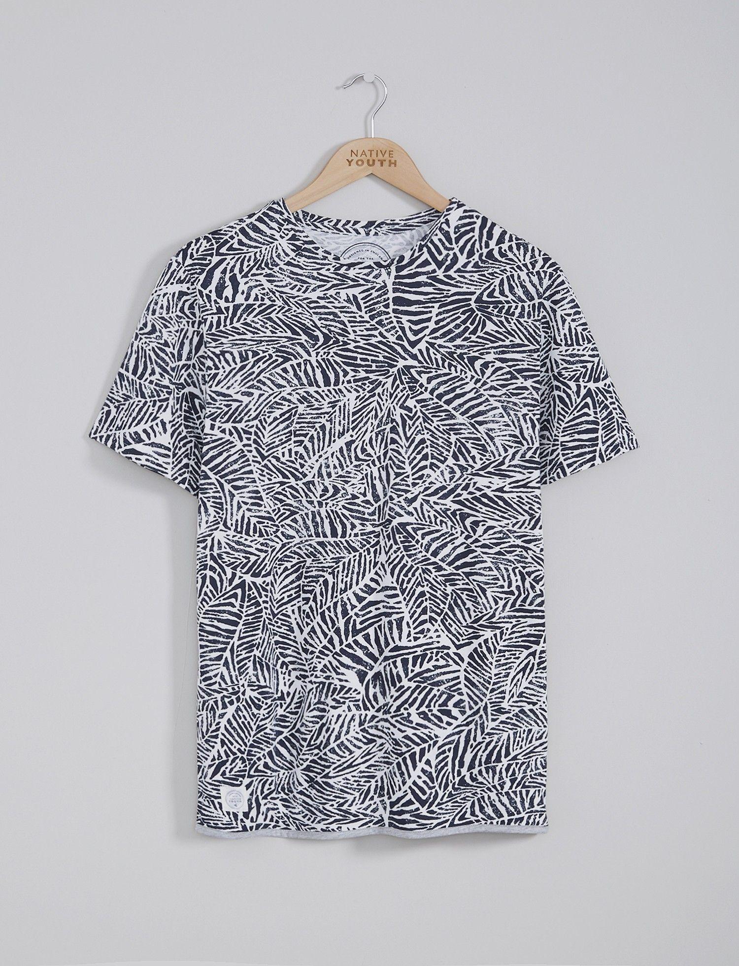 c0294158 Mens T-Shirts | Leaf Print Tee | Native Youth | Fashion I love ...