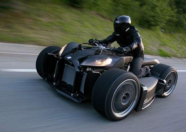 Supercar-Inspired ATVs