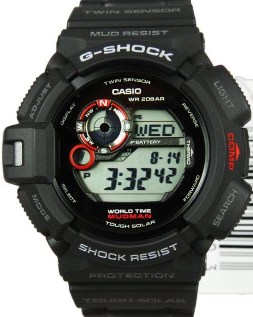 Casio G-Shock Mudman Mens G-9300-1DR  aa00acbe80
