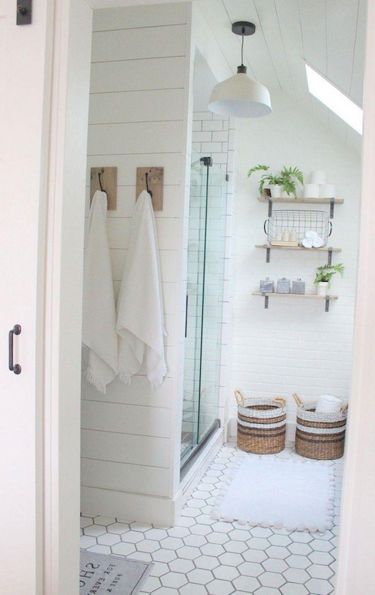 60+ Admirable Attic Bathroom Makeover Design Ideas ...