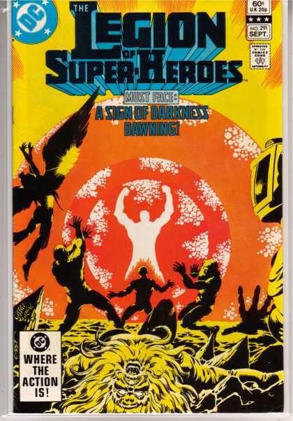 Superboy - Legion of Super-Heroes 291