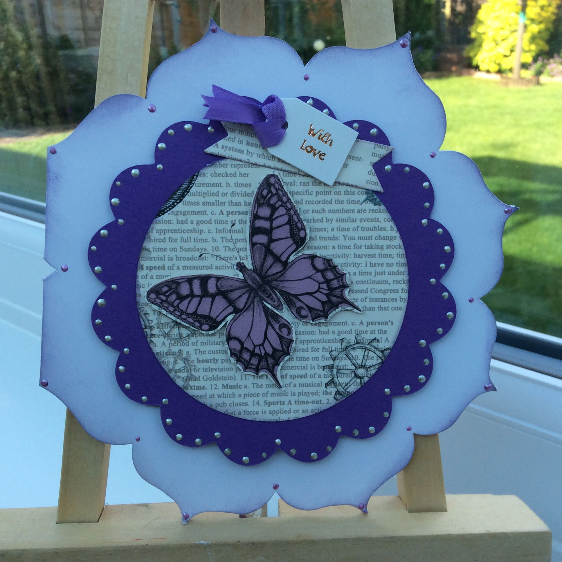 Using Craftwork Time Flies Papers