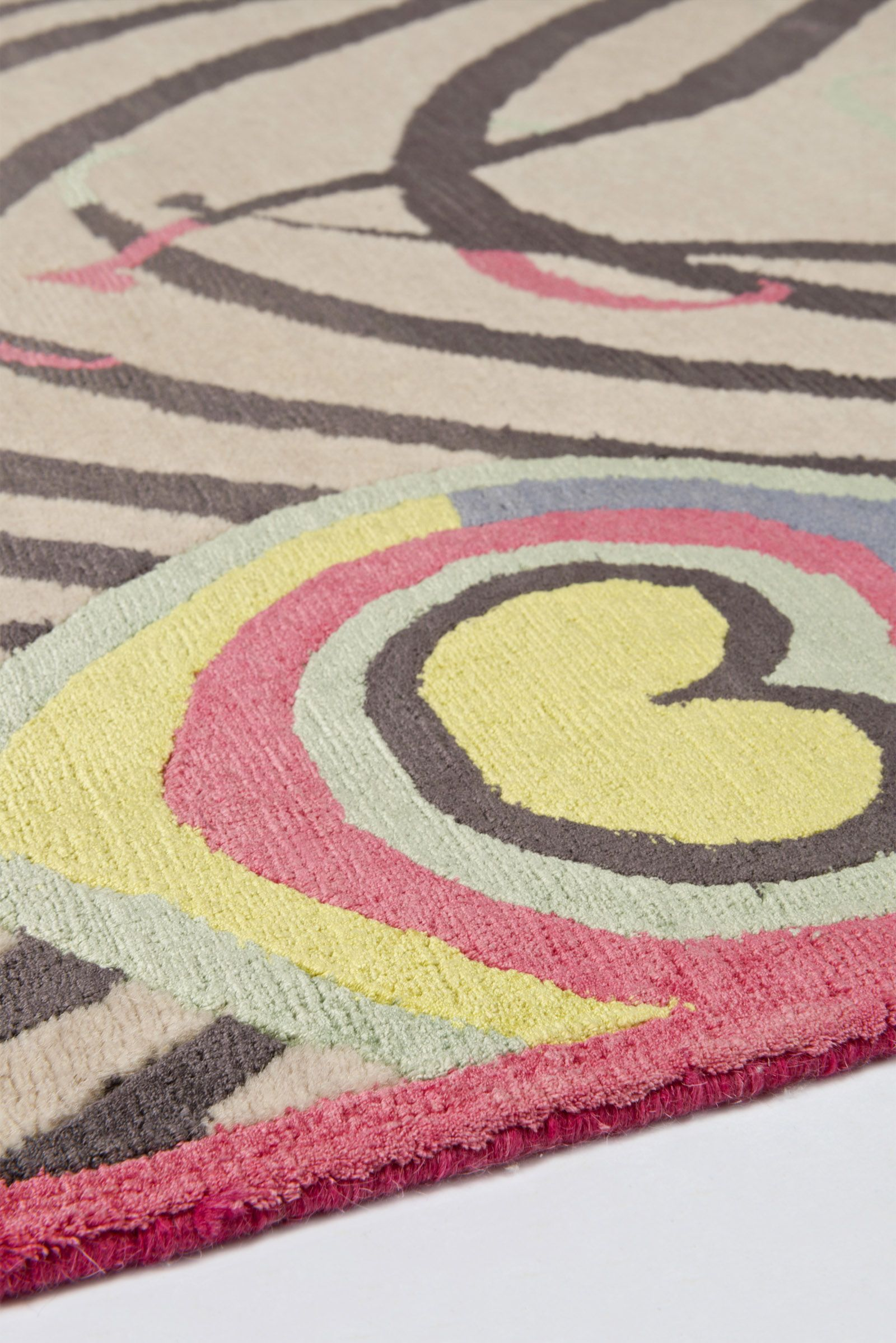 Close Up Of Pea Light By Matthew Williamson For The Rug