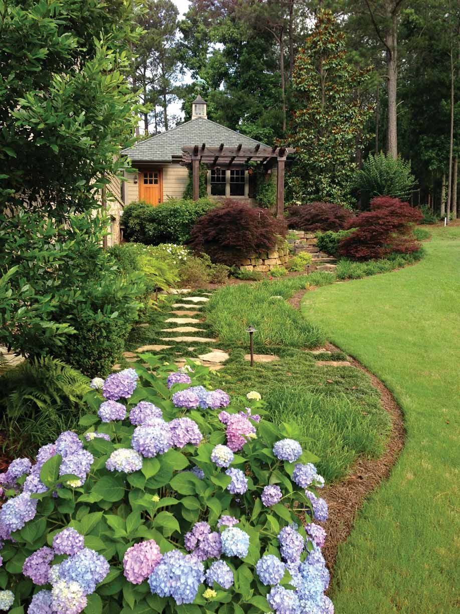 Whats Your Landscaping Budget Atlanta Home Improvement - Backyard design on a budget atlanta