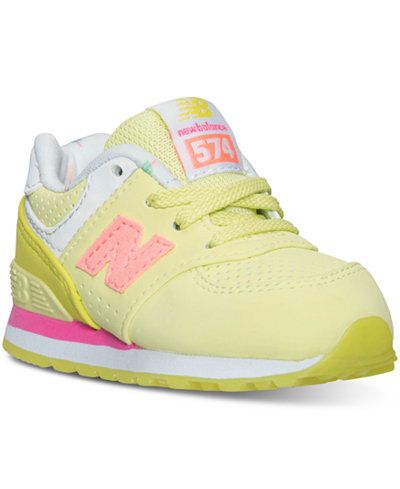 679eae8b043 New Balance Toddler Girls  574 State Fair Casual Sneakers from Finish Line  Zapatos Bonitos